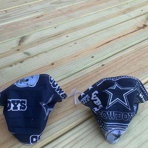 2 Dallas Cowboys washable Face masks